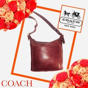 COACH Vintage Legacy Slim Leather Bucket Bag